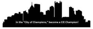 In the City of Champions, become a CIE Champion!
